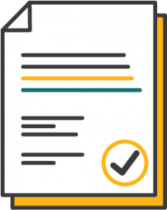 Documents Icon with check mark